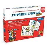 J'apprends l'anglais autrement - Niveau débutant: 80 cartes mentales pour apprendre...