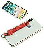 SGC タイプ iPhone XR シンプルグリップケース2 エンボスクロコ レッド 【Ricky's】 ipho……