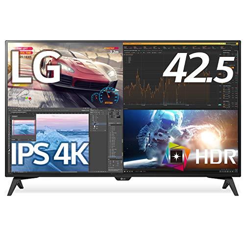 LG モニター ディスプレイ 43UN700T-B 42.5インチ/4K/HDR対応/IPS非光沢/HDMI×4,DP,USB Type-C/スピーカー/...