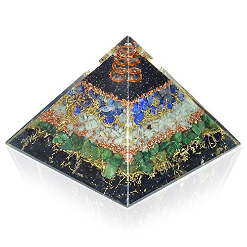 New Orgone Pyramid for Healing Heart | Black Tourmaline |...