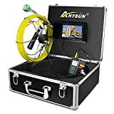 Pipe Inspection Camera,Pipeline Drain Sewer Industrial Endoscope Anysun PC20M Waterproof IP68...