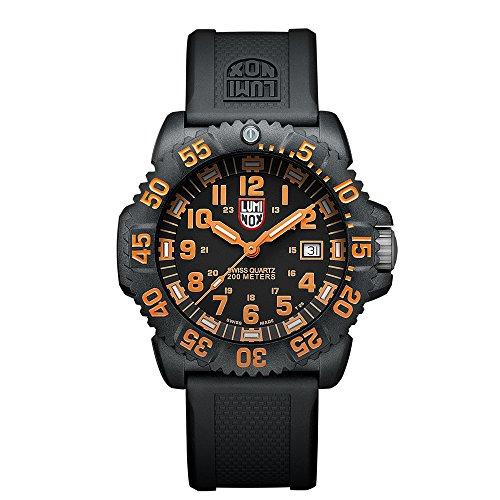 Luminox Navy SEAL Colormark Herren-Armbanduhr Analog Quarz Kautschuk - LU3059