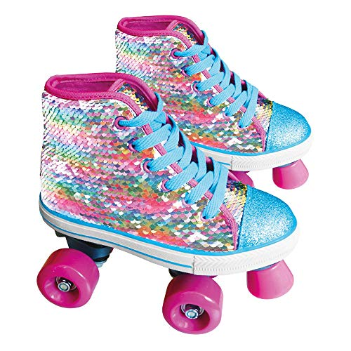 Girabrilla by Sport1 Pattini a rotelle con paillettes girevoli multicolor 31-32