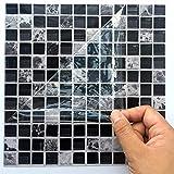 Ingeniously Autocollants en mosaïque, 10pcs / Set 3D Auto-adhésif imperméable à...
