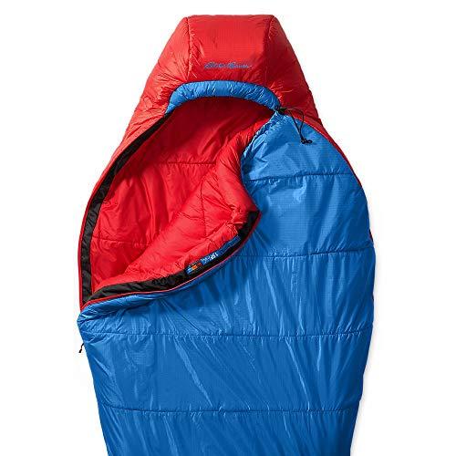 Eddie Bauer Unisex-Adult Igniter 20 Synthetic Sleeping Bag, Blue Regular ONE SI