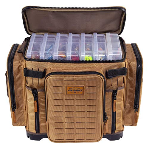 Plano Guide Series Tackle Bag | Premium Tackle Storage with No Slip Base and Included stows, Khaki...