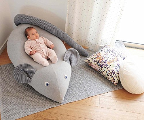 Huge Mouse Beanbag pillow, baby beanbag, floor pillow, kids...