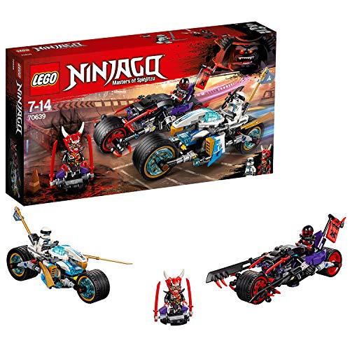 LEGO- Ninjago Gara su Strada del GiaguaroSerpente, Multicolore, 70639
