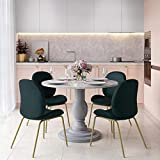 CosmoLiving by Cosmopolitan Waverly Dining Table Gray
