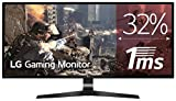 LG 29UM69G-B - Monitor Gaming UltraWide WFHD de 73.7 cm (29') con Panel IPS (2560 x 1080 píxeles, 21:9, 1 ms con MBR, 75Hz, FreeSync, 250 cd/m², 1000:1, sRGB 99%, DPx1, HDMIx1, USB-Cx1) Color Negro