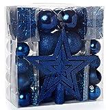HEITMANN DECO Noël - Set de 45 décorations de Sapin de Noël - Pointe de...