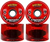 Bigfoot Longboard Wheels 76mm 80A SHR Mountain Cruisers