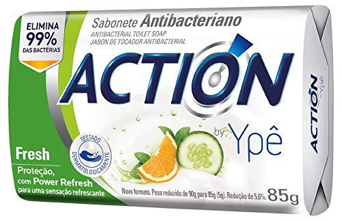 Sabonete Antibac Ypê Action Fresh 90G, Ypê, Branco