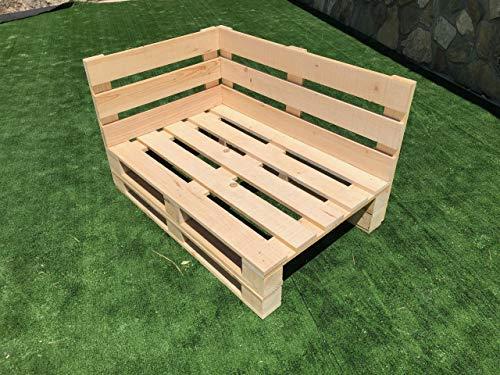 CHAISLONGE Sofa PALETS Lijado Y Cepillado - Medida 120cm X 8