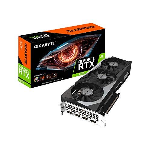 Gigabyte Technology RTX 3070 Gaming OC - Tarjeta gráfica GeForce 8 GB, GV-N3070GAMING OC-8GD