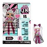 LOL Surprise Mini Poupées Mannequin JK - 15 Surprises, Vêtements et Accessoires - À Partir de 6 Ans - À Collectionner - Diva