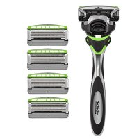 Schick Hydro Sense Sensitive Razors for Men With Skin Guards and Shock Absorbent Technology, 1 Razor...