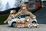 Geant Ours en Peluche 130cm - Teddy Bear 51 inch - Enfant Jouet Nounours Brun...