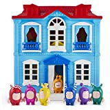 ODDBODS Playset with House for Kids - Features Indoor and Outdoor Spaces with Furniture and 7 Detailed Figurines