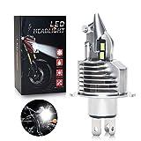 OPPULITE Ampoule H4 LED pour Moto, Phare Avant de Moto 8000LM 35W 6500K...