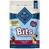 Blue Buffalo BLUE Bits Natural Soft-Moist Training Dog Treats, Beef Recipe 11-oz Bag