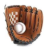1pc Sport Baseball et Softball Gant Professionnel et Baseball Softball Mitt...