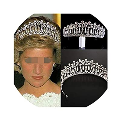 ★️Type:Baroque Vintage Crystal Wedding Bridal Tiaras,Pattern:Luxury Pink Gold Pearl Bridal Crowns,Design:Diverse Silver Crystal Bride Tiara Crown,Model:Rhinestone Waterdrop Leaf Tiara Crown Headband ★️is_customized:Yes,Material:Gold Diadem Tiaras for...