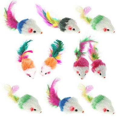 Aftermarket Furry Pet Cat Toys Mice, Cat Toy Mouse, Pet Toys...