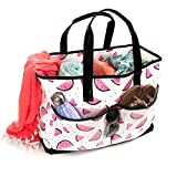 Viva Terry Large Waterproof Beach Travel Tote bag Handbag Organizers (watermelon)