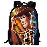shenguang Toy Story - Mochila de Viaje para Adultos Que se Adapta a Mochilas para portátiles de 15,6 Pulgadas, Mochila Escolar, Mochila Informal para Hombres y Mujeres
