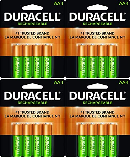Duracell 16 X NEW AA Batteries Rechargeable NiMH Precharged 2400mAh