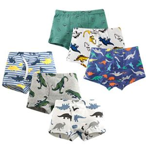HLMBB Toddler Underwear Boy Boxer Briefs 3T 4T Little Boys Kids Short Panties Size 5 6