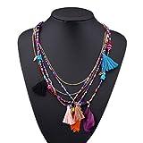 LUFA Perles en forme de perles de perles en alliage pendentif multicolore...