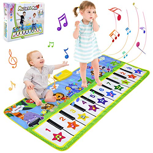 BelleStyle Alfombra Musical Piano