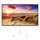 Best Choice Products 100in Portable 16:9 Projection Screen w/ 87x49in...