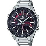 CASIO Herren Analog – Digital Quarz Uhr mit Edelstahl Armband ERA-120DB-1AVEF