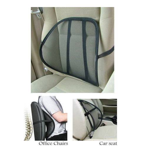 Cool Vent Cushion Mesh Back Lumbar Support