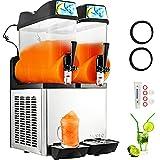 VBENLEM 110V Commercial Slushy Machine 24L Margarita Frozen Drink Maker for Commercial and Home Use