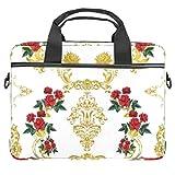 Bolso bandolera para portátil de 14,5 pulgadas, diseño exquisito, bolso de hombro para tabletas y negocios, para mujeres y hombres