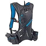 Spokey® Sprinter Mochila––Mochila de hidratación, 395gr.Unidad, mochila, bicicleta Mochila multicolor negro / azul
