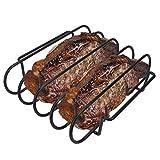 KALREDE Rib Rack for Smoking Grilling -...