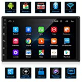 ANKEWAY 7 Inch Android 9.1 Car Stereo with HiFi/WiFi/GPS/RDS/FM/Bluetooth, 2021 New Double Din Car...