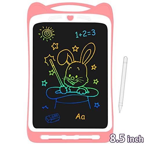 AGPTEK Tavoletta Grafica LCD Scrittura 8.5 Pollici Colorato, con Pulsante di Blocco, Lavagna da...