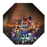 Sdfsffjjekl Sonic The Hedgehog Bud Parapluie et Un Parapluie de Protection...