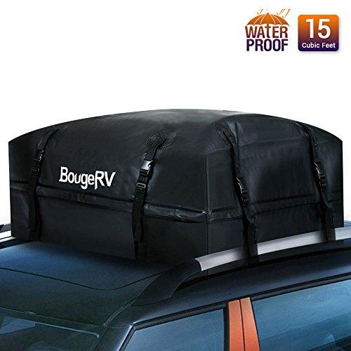 BougeRV Box da Tetto Auto Box Portapacchi Auto 425 Litri Box Portatutto Impermeabile Resistente da...