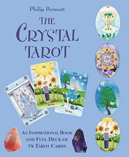 The Crystal Tarot: An inspirational book and full deck of 78...