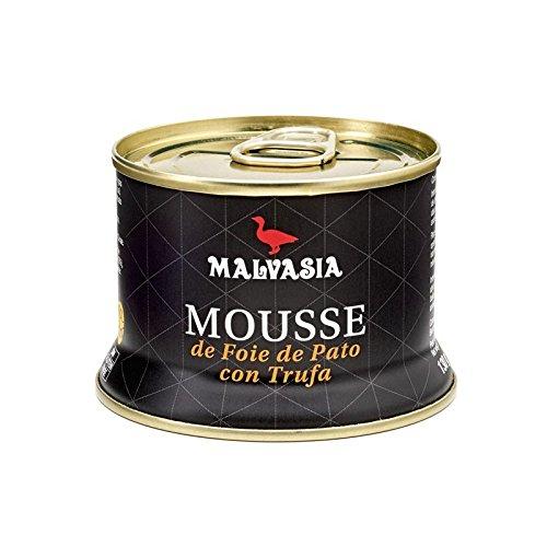 Mousse de Foie de Pato con Trufa 130 g Malvasía abrefácil