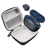 JBL Tune 120TWS True Wireless in-Ear Headphones Bundle with gSport Deluxe Hardshell Case (Blue)