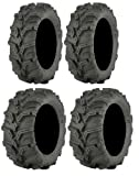 Full set of ITP Mud Lite XTR (6ply) 25x8-12 and 25x10-12 ATV Tires (4)