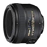 Nikon AF-S Nikkor 50 mm f/1.4G Obiettivo, Nero [Versione EU]